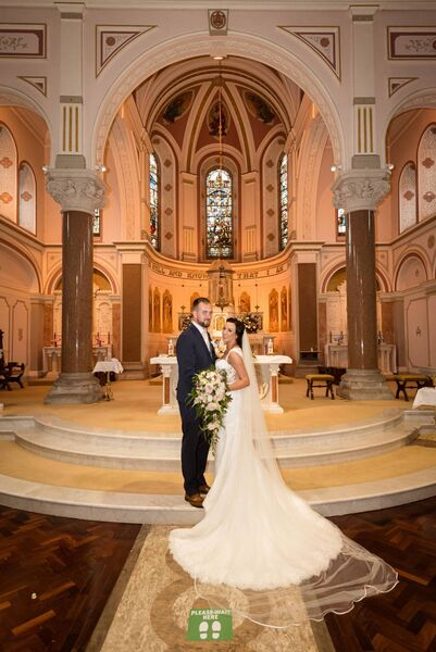 The couple said their vows in St Patrick's Cathedral in Skibbereen.