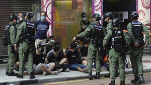 Hong Kong police arrest 289 at protests over elections delay
