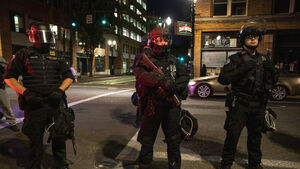 Man shot dead in Portland 'was Patriot Prayer supporter'