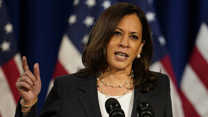 Harris warns voter suppression and foreign interference could alter election