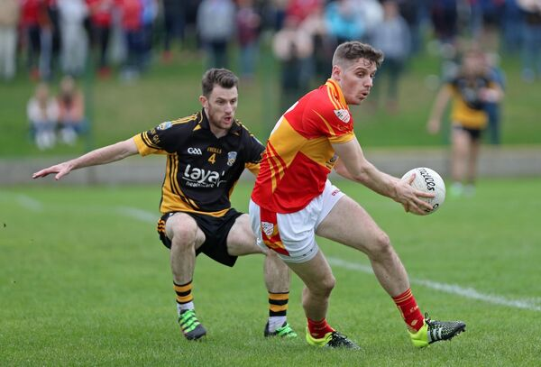 Daniel Goulding kicked 0-8 for Éire Óg in their win over Bantry. Picture: Jim Coughlan.