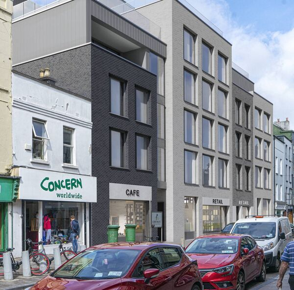 Bmor Developments Ltd are seeking permission for 49 apartments, as well as two retail units and a cafe/restaurant at 92-96 North Main Street, which incorporates the old Munster Furniture site.