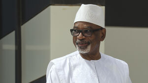 Mali president resigns and dissolves parliament