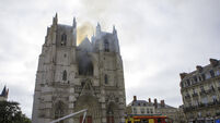 France Cathedral Fire