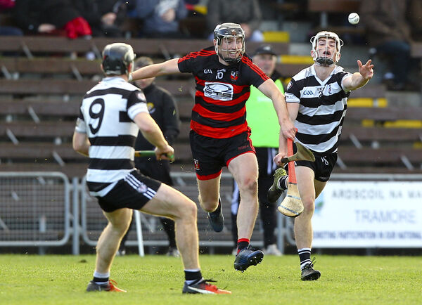 Midleton's Tommy O'Connell with Ballygunner's Pauric Mahony. The young forward will be a key performer for the Magpies this season. Picture: INPHO/Ken Sutton
