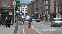 Cycle bollards and junction improvements to protect vulnerable road users in Cork