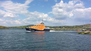 Baltimore RNLI provides medical evacuation from Sherkin Island