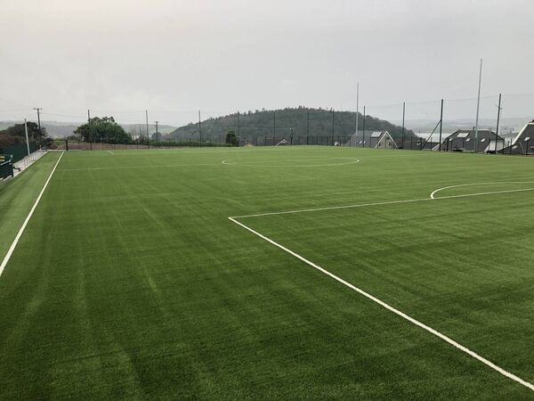 The new all-weather pitch at Crosshaven AFC at Camden, Crosshaven. Picture: Larry Cummins