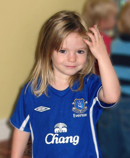 Madeline McCann went missing on 2007. Stock picture