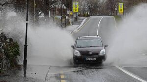 Flooding on Cork routes this morning, number of roads impassable