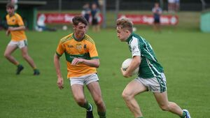 Ballincollig minor footballers power on past Glanmire in the second half