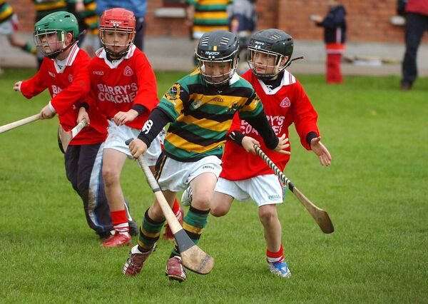 Simon Kennefick, Glen Rovers, at the Garda Hurling Blitz in 2008. Picture: Larry Cummins