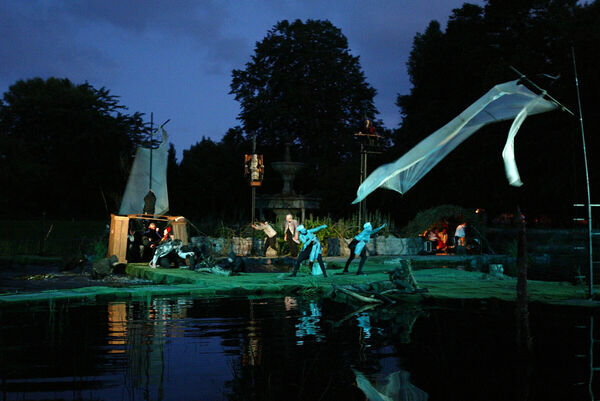 'The Tempest' at Fitzgerald Park in 2006, a Corcadorca Production as part of the Midsummer Festival.