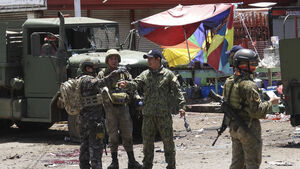 Army chief says suicide bombers behind deadly Philippine attacks