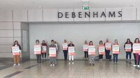 Former Cork Debenhams workers gift staff party funds to Penny Dinners