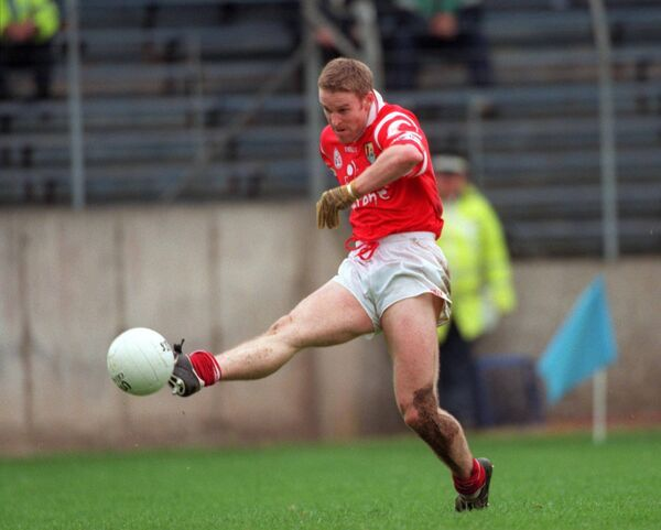 Podsie O'Mahony in action for Cork in 1999. Picture: INPHO\Patrick Bolger