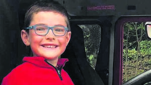 Harry, 6, in marathon cycle trek for charity