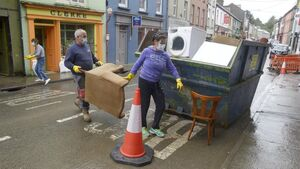 Clean up continues in Skibbereen as more funding promised for flood-hit businesses