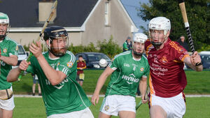 Aghada hurlers push on with the extra man to record derby defeat of Youghal