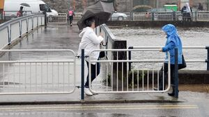 Cork battered with twice the average rainfall for November