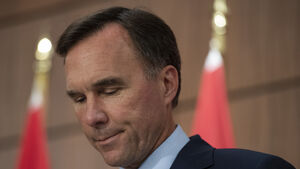 Canada's finance minister steps down amid pandemic