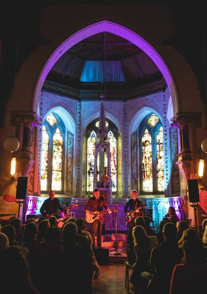 Boa Morte playing at Other Voices December 2019 at the Church, An Díseart,Dingle Co Kerry. Picture: Tara Thomas