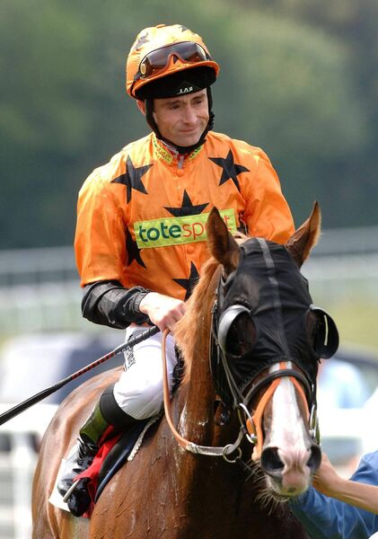 Dunelight with jockey Dane O'Neill after winning The Empire Property Group on the House Stakes at Goodwood racecourse, in West Sussex back in 2007. 	Picture: Clara Molden/PA Wire