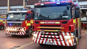 Emergency services responding to fire at Cork petrol station
