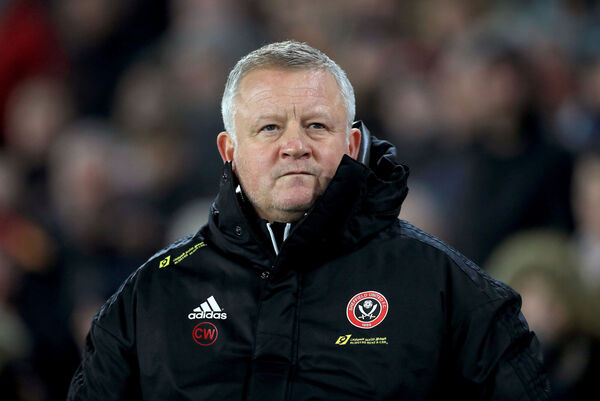 Sheffield United boss Chris Wilder. Picture: Mike Egerton/PA Wire.