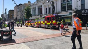 Emergency services are at the scene of a dangerous structure incident in Cork