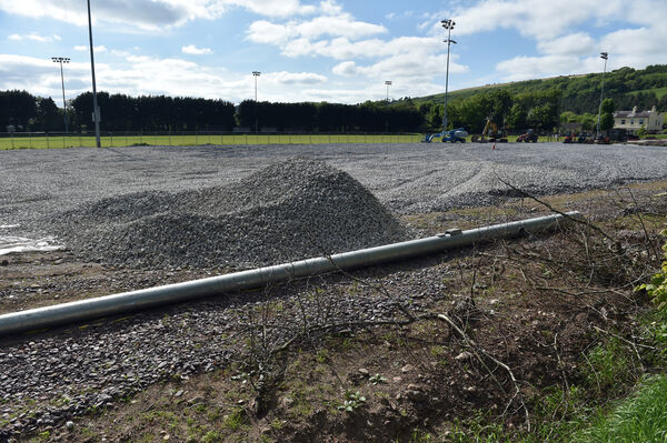 The pitch at Ballincollig GAA club will be ready soon. Picture: Eddie O'Hare