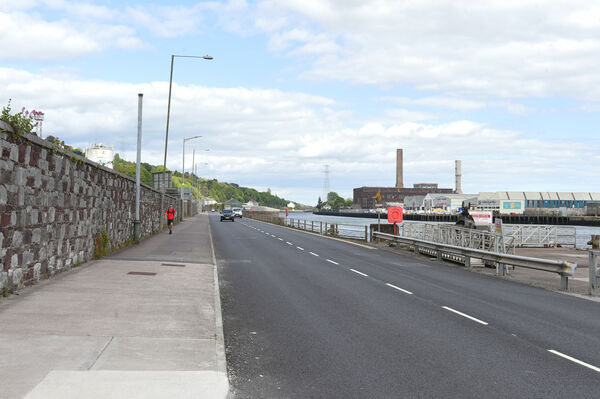 Planned cycling upgrades on Horgan's Quay Pic; Larry Cummins