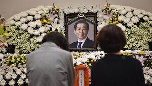 Seoul mayor's death prompts sympathy as well as questions over his behaviour