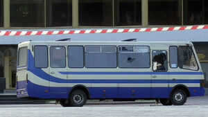 Ukraine hostage-taker surrenders with bus passengers unharmed