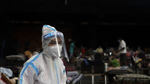 India records almost 25,000 new coronavirus cases
