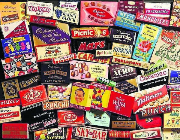SPOILT FOR CHOICE: A Medley of chocolate bars