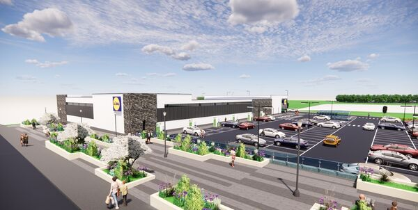 Proposed Lidl store in Mallow. Pic courtesy of Lidl Ireland