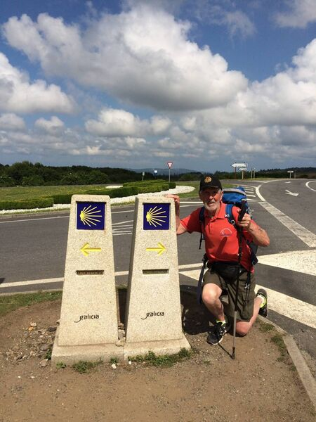Eugene has been all over the world, fundraising for Crumlin.