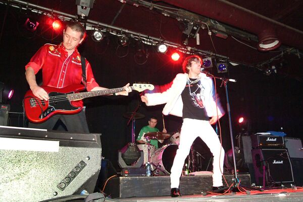 The Sultans of Ping live on stage at The Savoy, Cork  in 2005.Picture; Larry Cummins