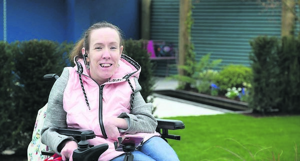 SEEKING SANCTUARY: Shelly Gaynor, who has cerebral palsy.