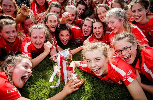The Cork camogie team have enjoyed great success in recent years. Picture: INPHO/Ryan Byrne