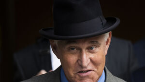 Roger Stone uses racial slur in radio interview