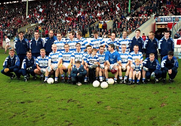 The Castlehaven team that was beaten by Beara in '97. They still landed the Munster title after, as divisional teams aren't allowed progress.