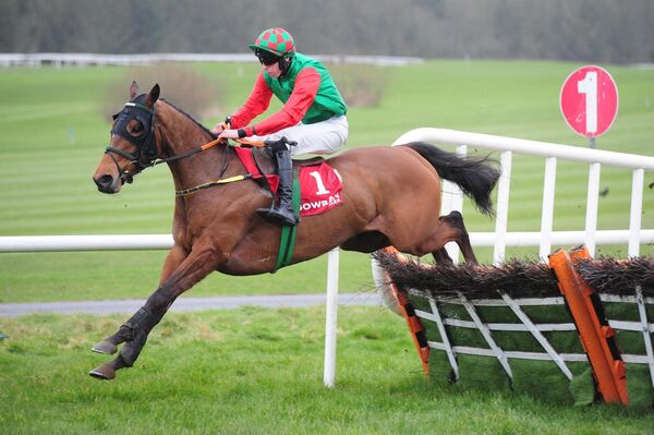 Future Proof and Eoin Walsh win the MansionBet Getitready for Cheltenham Maiden Hurdle. Picture: Racing Photo