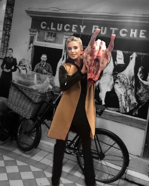 Sarah Lucey whose family run Lucey's Butcher's in Mallow.