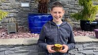 Cork boy 'coasting' through lockdown making handmade gifts for his granny and helping his community