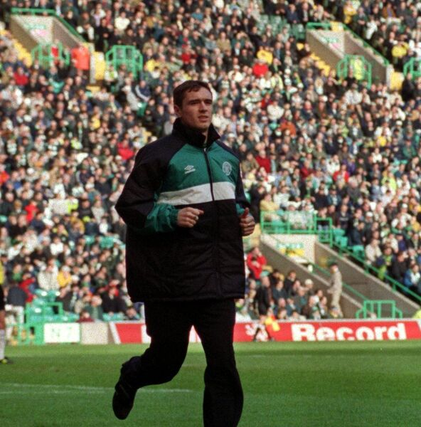 At Celtic Park in 2000. Picture: Eddie O'Hare