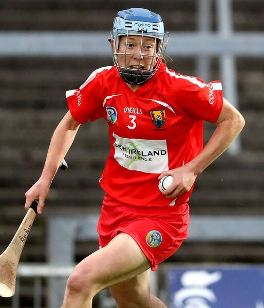 Cork dual icon Rena Buckley during a camogie clash. Picture: INPHO/Bryan Keane