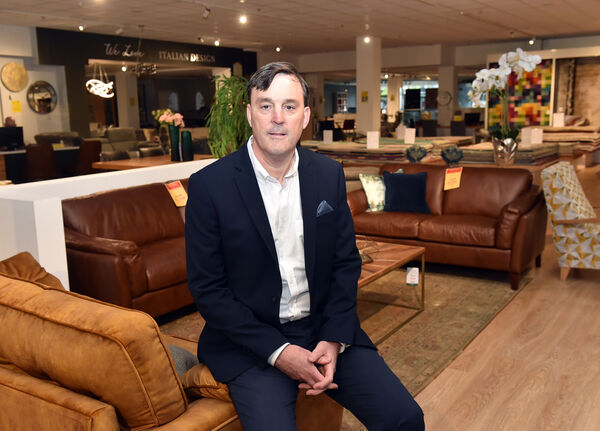 David Casey, sales director Casey's furniture stores on Oliver Plunkett street , Cork Picture: Eddie O'Hare