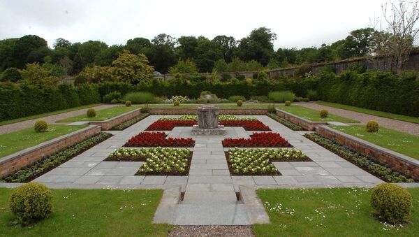 The Italian garden at Fota Arboretum & Gardens. /FOTA HOUSE CORK /Picture Denis Minihane.